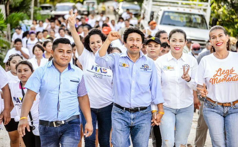 Víctor Mas Tah alista un cierre de campaña espectacular. (Cortesía)