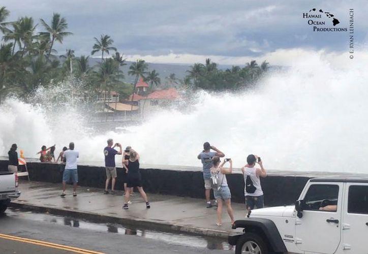Los huracanes rara vez tocan tierra en Hawái, ya que en el Pacífico Central se forman muy pocas tormentas. (Milenio)