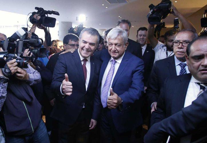 Andrés Manuel López Obrador, presidente virtual de México. (Milenio)