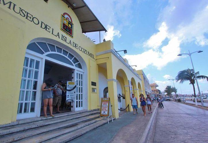 Esperan recursos para la modernización del Museo Cozumel. (Gustavo Villegas/SIPSE)