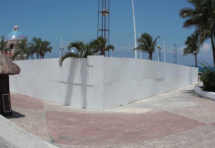 El predio que se vendió se ubica en el parque Benito Juárez. (Gustavo Villegas/SIPSE)