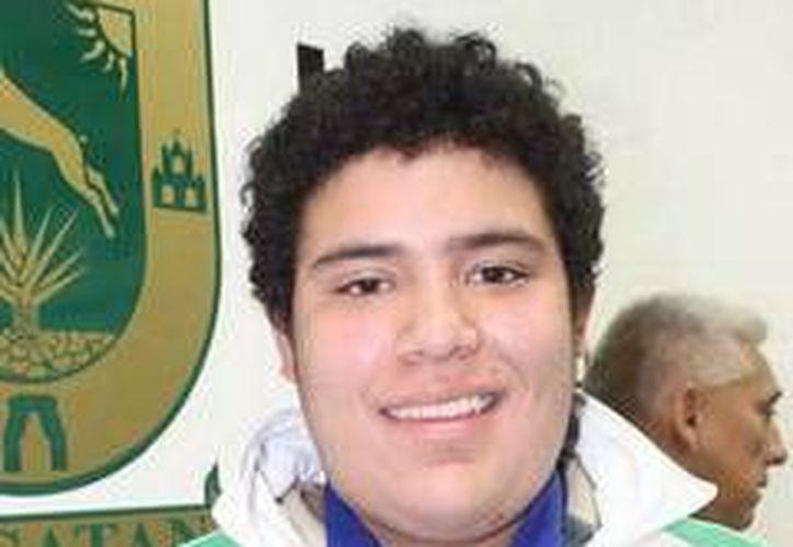 José Medina Andueza tuvo un estreno soñado en su debut en competencias internacionales. (Milenio Novedades)