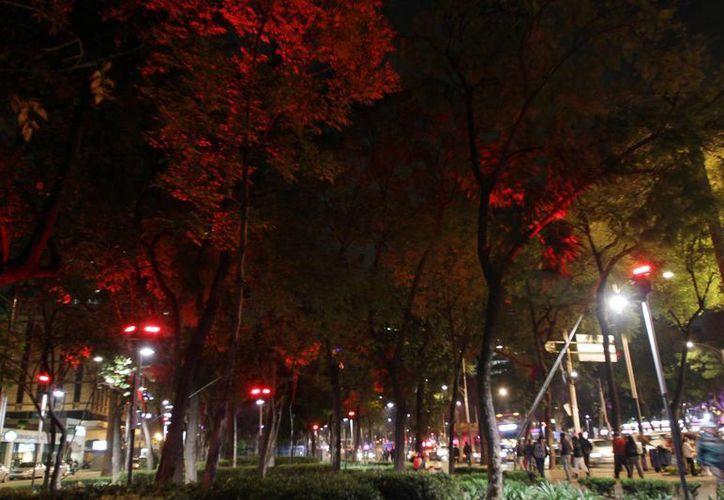 Se espera iluminar más de 330 mil puntos de toda la ciudad. (Archivo/Notimex)