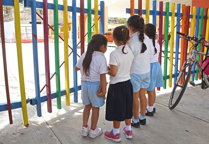 El preescolar en Quintana Roo inicia en segundo grado. (Foto: Jesús Tijerina)