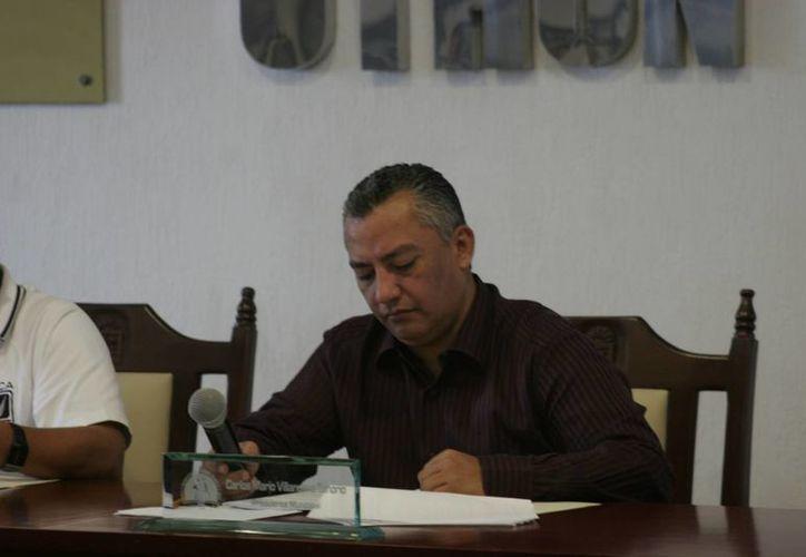 Regidores exigirían al alcalde, Carlos Mario Villanueva Tenorio, una explicación acerca del uso excesivo de los recursos. (Harold Alcocer/SIPSE)