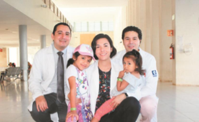 Las menores ya no corren peligro gracias a la operación.(Foto: Novedades Yucatán)