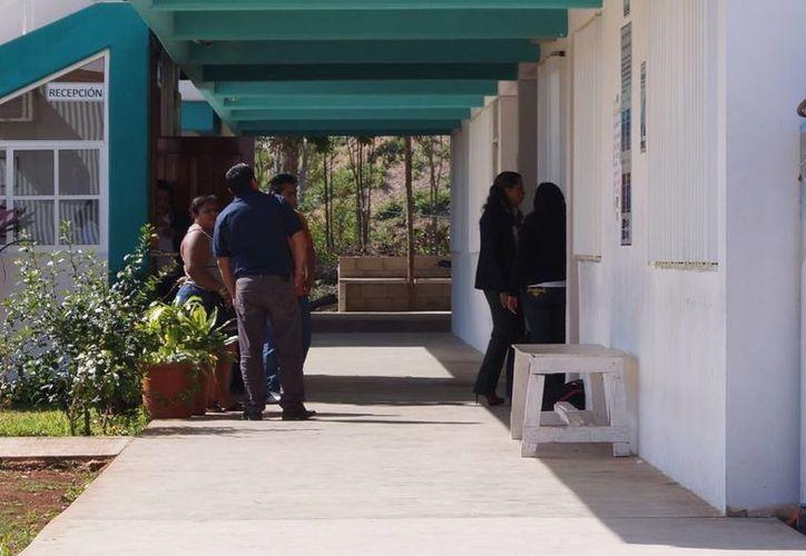 El incidente se registró en un salón del Colegio de Bachilleres 4. (Licety Díaz/SIPSE)