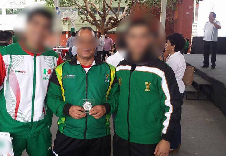 Apenas en noviembre pasado, el detenido fue reconocido como Mérito Deportivo Yucateco. (SIPSE)
