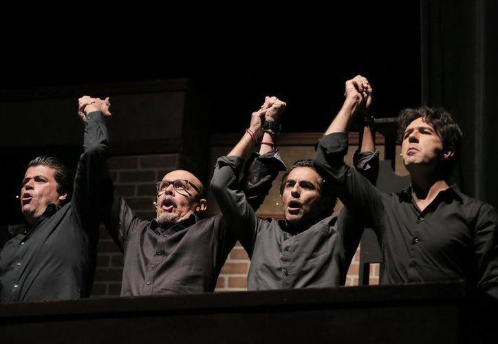 El cuarteto ha logrado el reconocimiento del público en todo el país. (SIPSE)