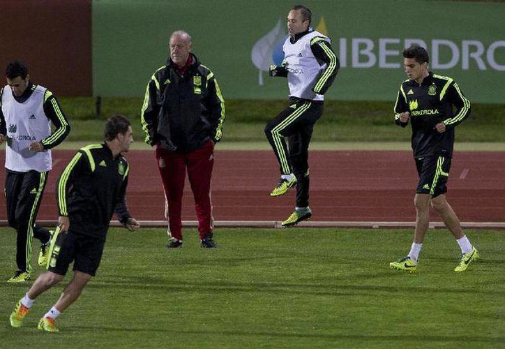 Del Bosque cosechó sus primeras críticas después de la prematura eliminación de España en la primera ronda del Mundial de Brasil. (AP)