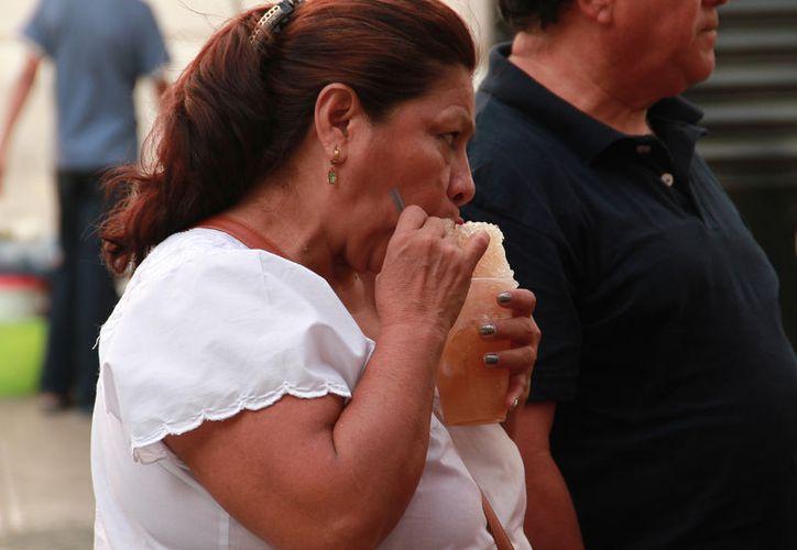 Esta semana, el calor puede romper récords en Yucatán. (Jorge Acosta/SIPSE)