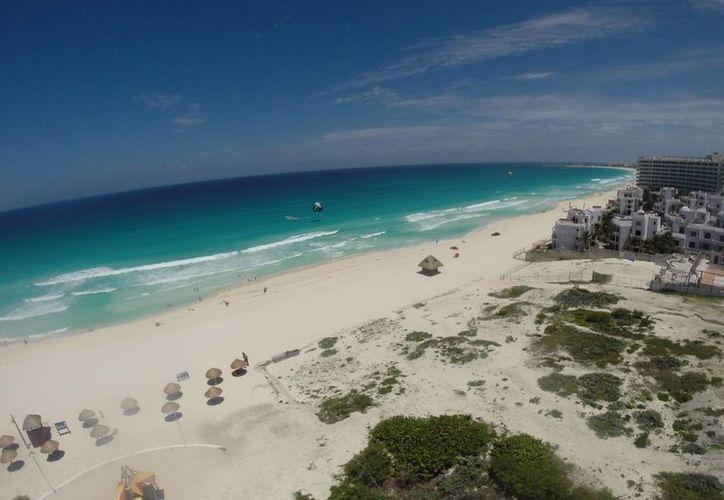 """La campaña  se llama """"Cancún y los Tesoros del Caribe"""". (Israel Leal/SIPSE)"""