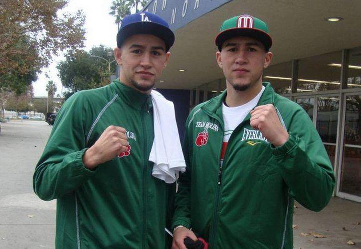 Por primera vez, los hermanos Molina estelarizan juntos cartelera como profesionales. (Facebook oficial)