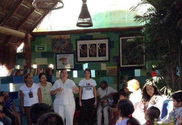 Las actividades se desarrollan en el centro cultural y artístico El Hongo. (Octavio Martínez/SIPSE)