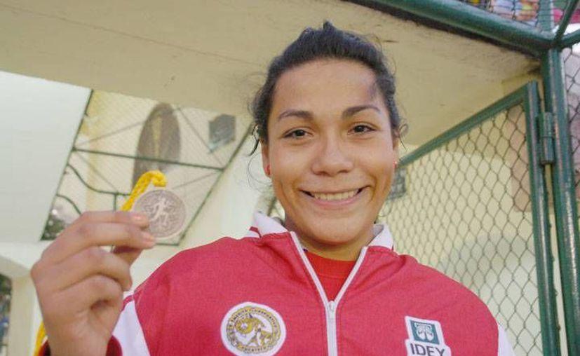 La yucateca superó a Mariela Hernández Saénz, de Nuevo León. (Milenio Novedades)