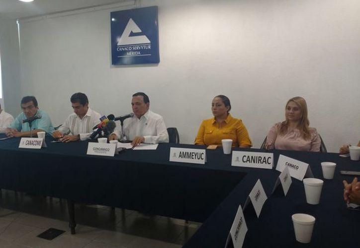 Este sábado ofrecieron conferencia de prensa para informar sobre la estrategia. (Candelario Robles/ Milenio Novedades)
