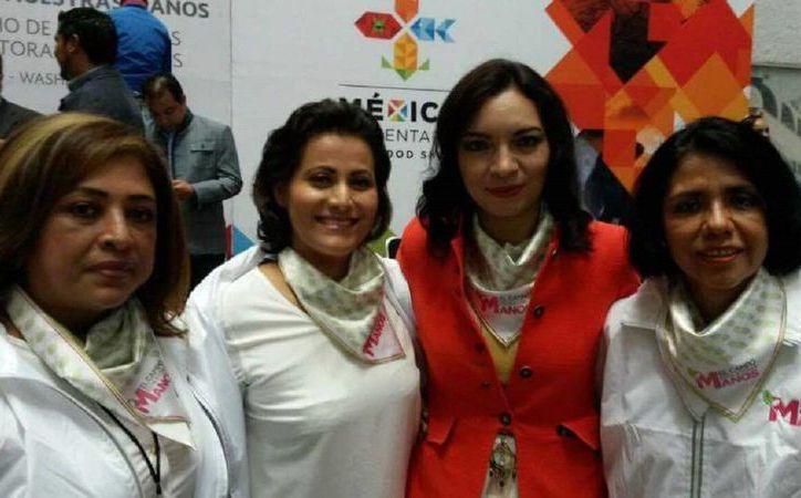 Tres mujeres de Quintana Roo reciben capacitación en productividad del campo, en Estados Unidos. (Cortesía)