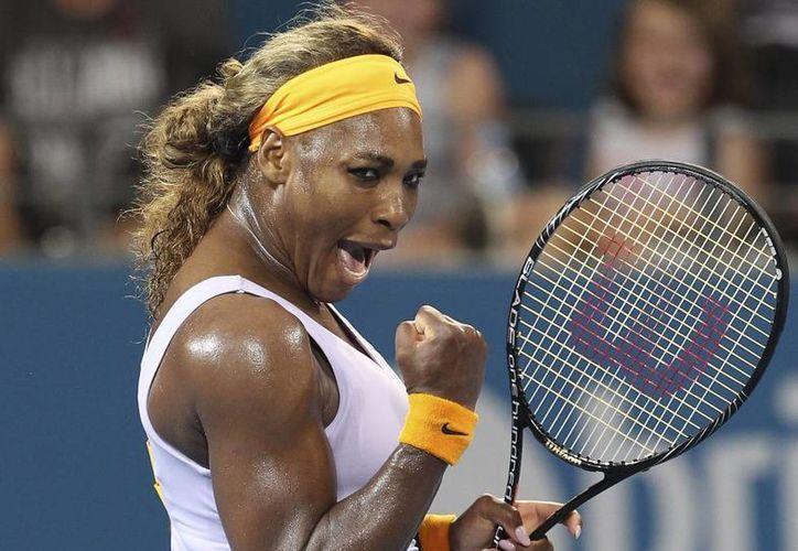 Serena Williams sigue reinando en la WTA. (AP/Archivo)