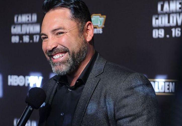 Al campeón de box Oscar de la Hoya le exigen pagar 2 millones de dólares para evitar la difusión de videos íntimos.  (Foto: FDB plus)