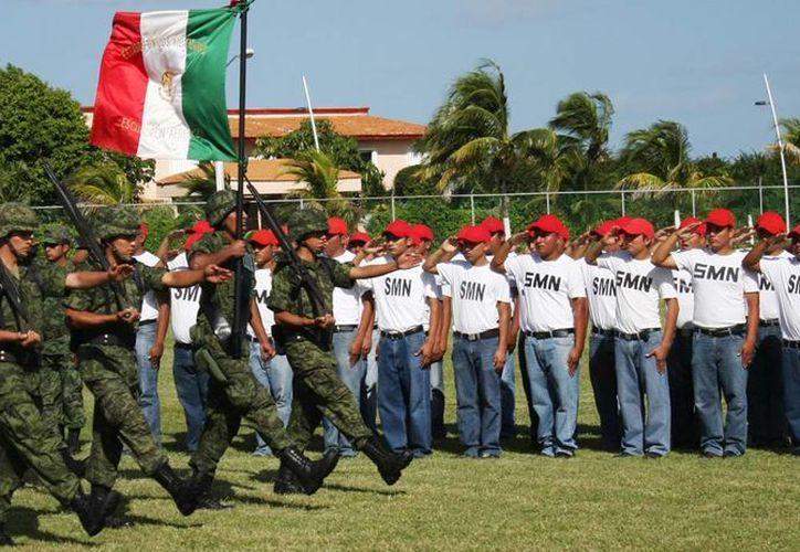 El Servicio Militar es obligatorio para los ciudadanos entre 18 a 40 años  de edad. (Cortesía/SIPSE)