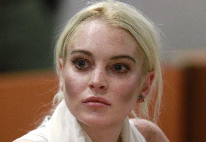 Por ahora Lindsay Lohan ya no tiene cuentas pendientes con la justicia de EU, pues acaba de cumplir una sentencia. (barstoolsports.com)