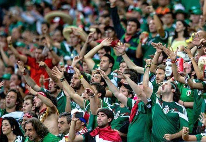 El pasado domingo, los seguidores del Tricolor volvieron a realizar el grito prohibido. (Foto: Contexto/Internet)