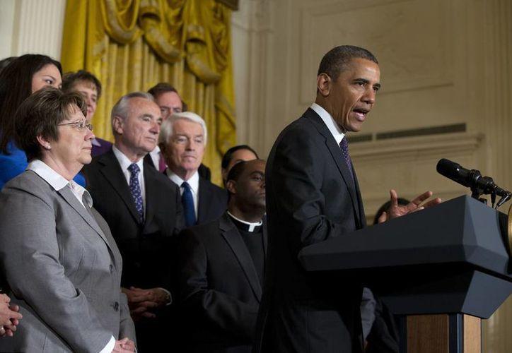 """Obama afirmó que la iniciativa del """"Grupo de los Ocho"""" constituye """"la mejor oportunidad en años"""". (Agencias)"""