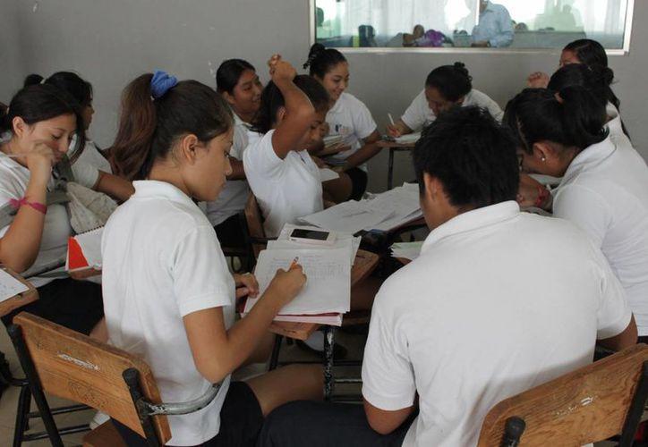 El plantel educativo espera 120 alumnos de nuevo ingreso. (Adrián Barreto/SIPSE)