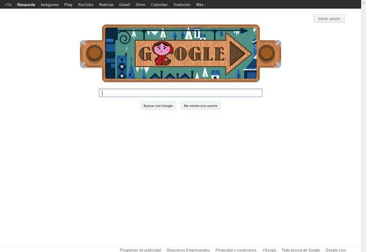 El buscador celebra el aniversario de los hermanos Grimm. (Google)