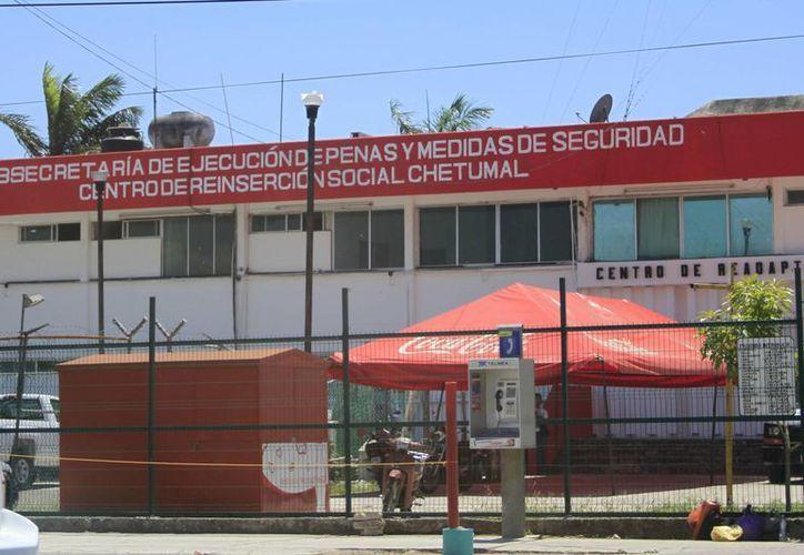 Las cárceles de Quintana Roo se encuentran con sobrepoblación y deja con muy poco espacio a los reos. (Archivo/SIPSE)