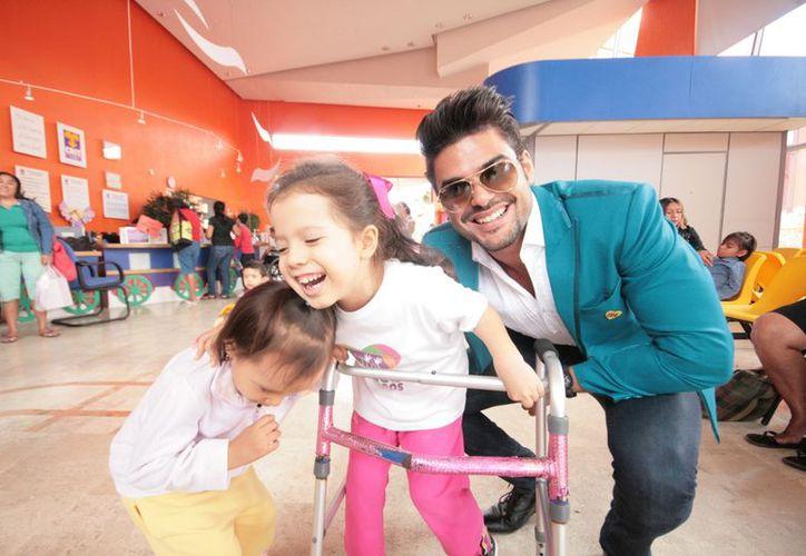 Sabater dijo que la gente en Yucatán lo ha recibido con los brazos abiertos, es acogedora y amable. (SIPSE)