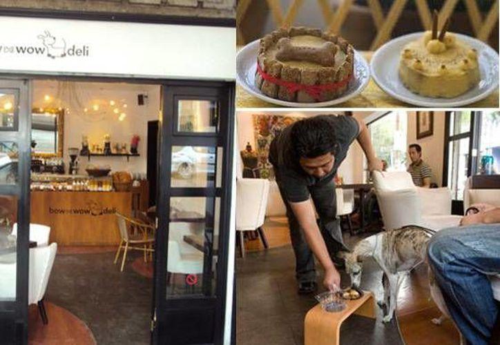 En Bow Wow Deli ofrecen pasteles para mascotas que son preparados con ingredientes de primera calidad. (redboxinnovation.com)