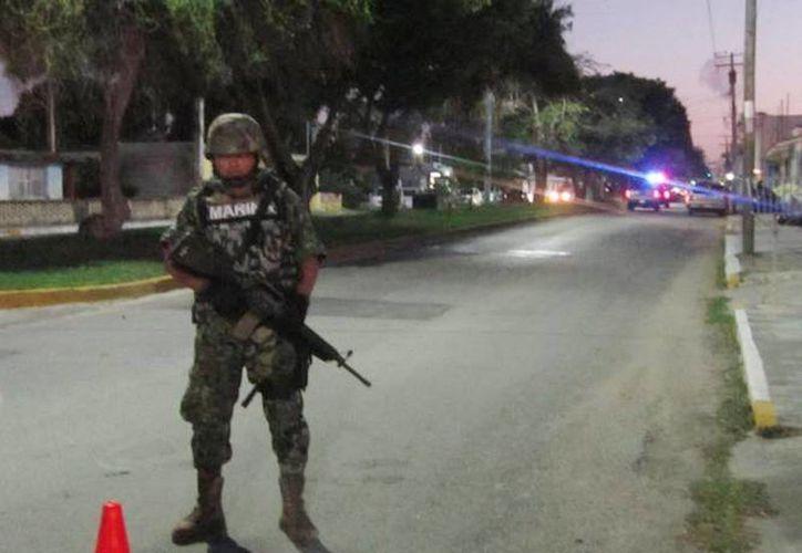 La Marina realiza operativos en apoyo a la Subprocuraduría Especializada en Investigación de Delincuencia Organizada en Sinaloa. (Foto de contexto de archivo/SIPSE)
