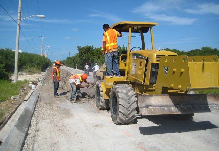 Un promedio de 20 obras se llevarán a cabo en el 2013, hasta antes de septiembre. (Lanrry Parra/SIPSE)