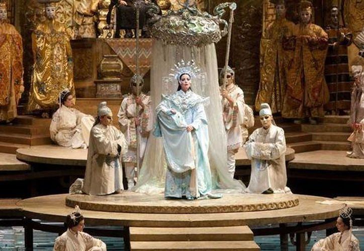 La ópera Turandot será transmitida en vivo hoy en la pantalla gigante de la Unicaribe. (Redacción/SIPSE)