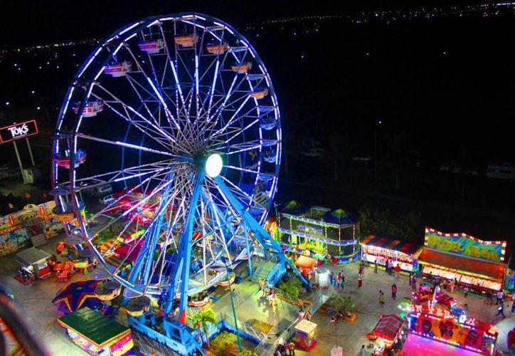Informaron que el costo total de la inversión de la Feria del Carmen fue de casi 6 millones de pesos. (Daniel Pacheco/ SIPSE)