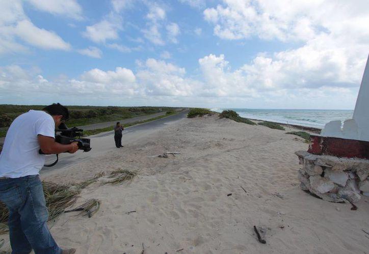 La Profepa y la PGR realizaron ayer un operativo como parte de las indagaciones por el caso de Punta Morena. (Gustavo Villegas/SIPSE)