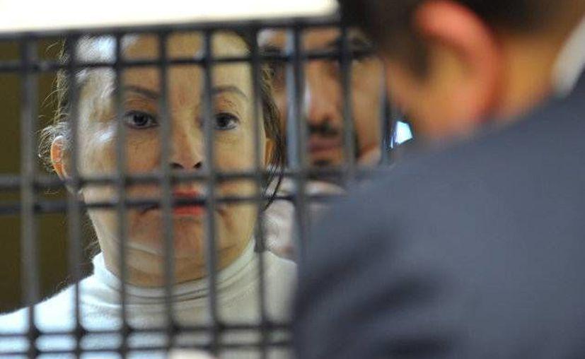 Elba Esther Gordillo Morales fue arrestada el 26 de febrero de 2013 acusada de los delitos de lavado de dinero y delincuencia organizada. (Archivo/Agencias)