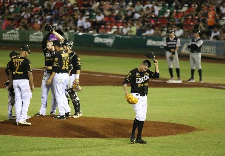 Los Leones de Yucatán buscarán en la gira mejorar sus números en este arranque de campeonato. (José Acosta/Novedades Yucatán)