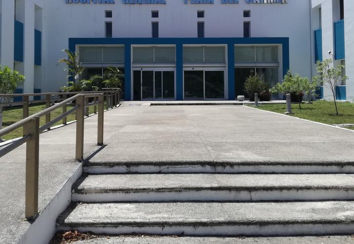 En los primeros siete años de historia del Hospital General de Playa del Carmen no ha habido prospectos para donar órganos. (Octavio Martínez/SIPSE)