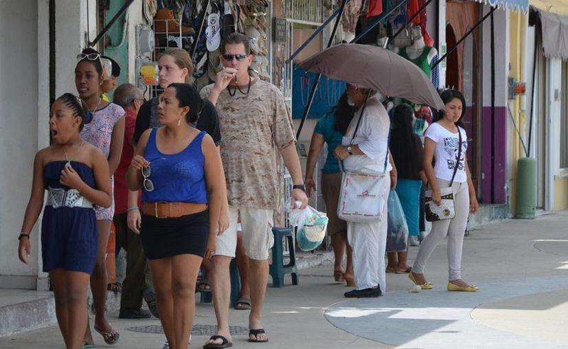 La afluencia turística del sur del estado continúa su tendencia a la alza. (Gerardo Amaro/SIPSE)