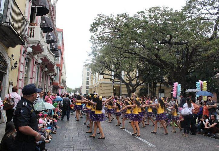 Este jueves 23 de febrero se llevará al cabo el desfile infantil del Carnaval de Mérida, por lo que varias calles estarán cerradas a la circulación de vehículos. (Cortesía)