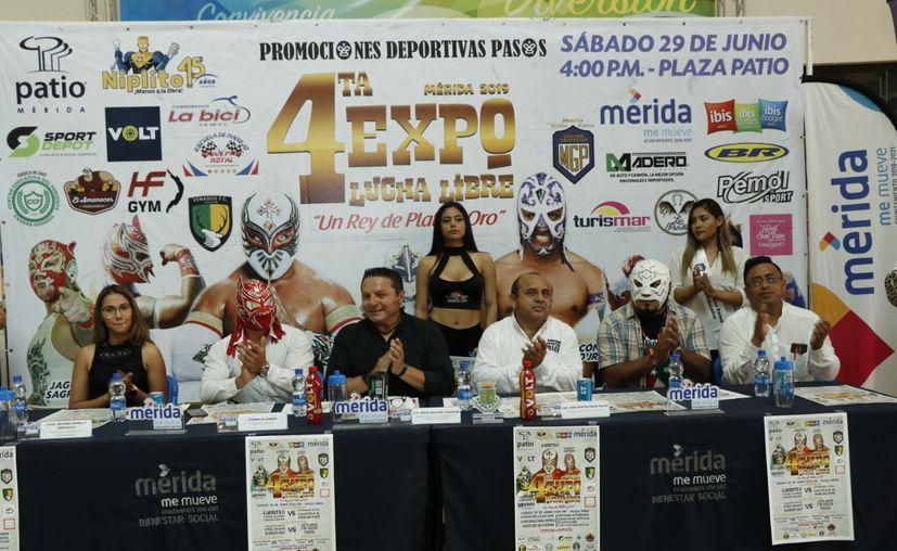 Ídolo del pancracio participarán en la Expo Lucha Libre en Mérida(Foto:José Acosta)