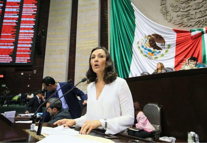 Arlet Mólgora Glover, legisladora federal priista por el estado de Quintana Roo fue quien propuso la iniciativa ante la Cámara de Diputados. (SIPSE)