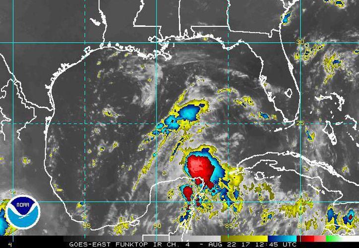 Los remanentes de Harvey van a generar tormentas fuertes en la Península el día de hoy. (Foto: Noaa)