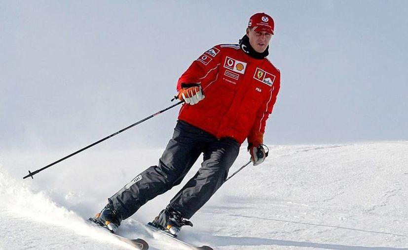 El excampeón de Fórmula 1, Michael Schumacher, se accidentó hace dos meses, cuando esquiaba en Francia. (zonadeportiva.net)