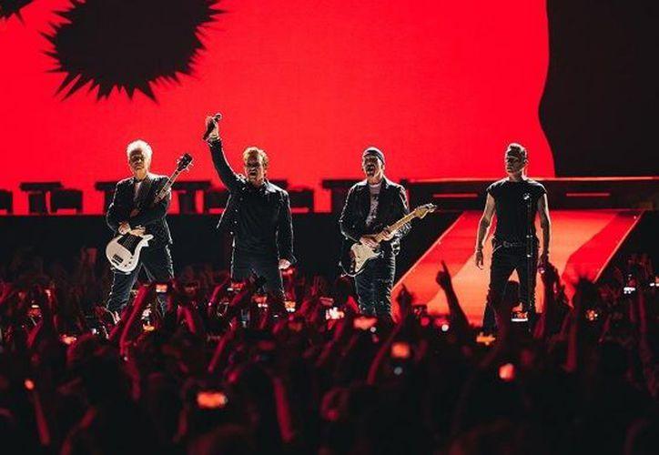 U2 comenzó con la celebración de los 30 años de The Joshua en Vancouver Canadá. (Instagram)