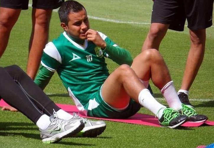 El delantero Luis Montes, del club León, tiene una oportunidad de oro en su carrera. (www.mediotiempo.com/Archivo)