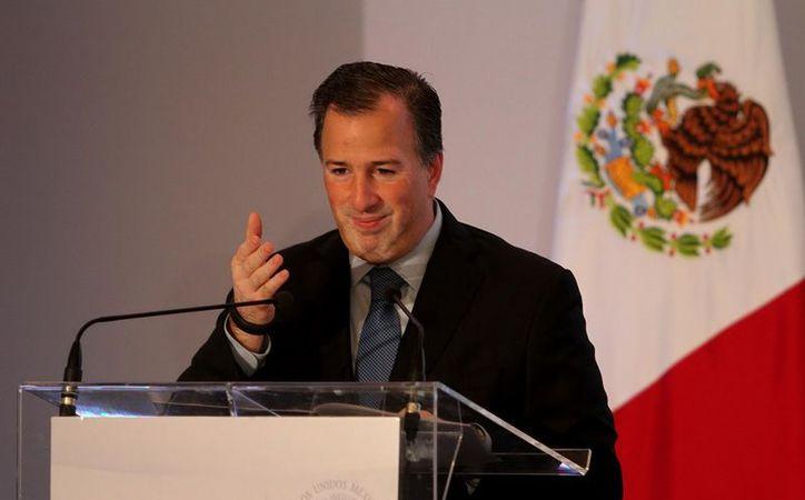 Transformar a México significa vencer los rezagos, las apatías y la falta de confianza: Meade. (Notimex)