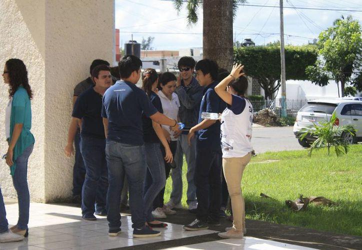 Los jóvenes de Othón P. Blanco ya han preparado 35 propuestas, aún falta las de los nueve municipios restantes. (Harold Alcocer/SIPSE)